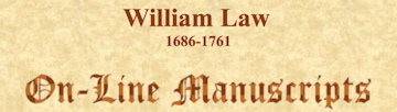 William Law's later writings